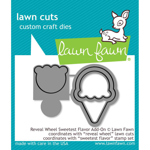 Lawn Fawn Reveal Wheel Sweetest Flavor Lawn Cut (LF1700)