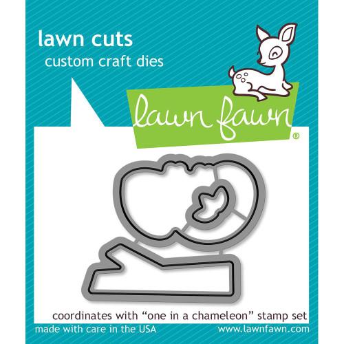 Lawn Fawn One In A Chameleon Lawn Cut (LF1550)