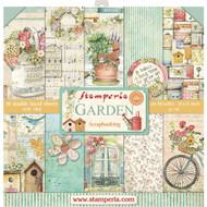 Stamperia - 12 x 12 Paper Pad - Garden (SBBL43)