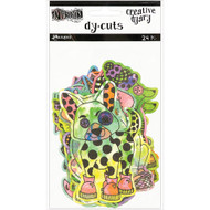 Dyan Reaveley's Dylusions Creative Dyary Die Cuts - Animals (DYE58717)