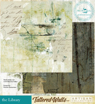 Blue Fern Studio - Tattered Walls - The Library