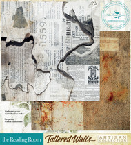 Blue Fern Studio - Tattered Walls - The Reading Room