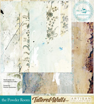 Blue Fern Studio - Tattered Walls - The Powder Room