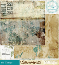 Blue Fern Studio - Tattered Walls - The Garage