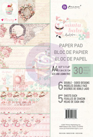 Prima Marketing - Santa Baby - A4 Paper Pad