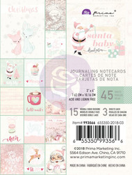 Prima Marketing - Santa Baby - 3 x 4 Journaling Cards