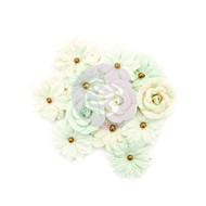 Prima Marketing - Santa Baby Flowers - Sweet Mint