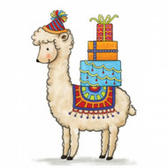 Wild Rose Studio - Birthday Llama Clear Stamp (CL518)