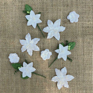 49 and Market - Flowers - Stargazers – Simply White