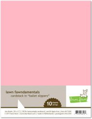Lawn Fawn - 8.5x11 Cardstock - Ballet Slippers (LF1444)