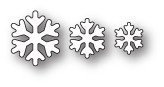 Box Die- Simple Snowflakes Craft Die 1931