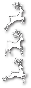 Poppystamp Die -Jumping Deer Trio Craft Die 1934