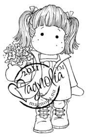 Magnolia Mini - TILDA WITH FLOWER POT
