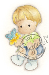 Magnolia Stamps LITTLE CUTE EDWIN - Special Moments