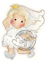 Magnolia Stamps Runaway Bride Tilda