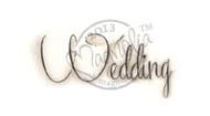Magnolia Stamps Wedding Text