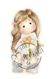 Magnolia Stamps Summer Wedding Tilda