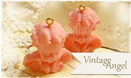 Magnolia Stamps - VINTAGE LITTLE ANGELS PINK