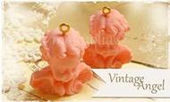 Magnolia Stamps - VINTAGE LITTLE ANGELS PINK