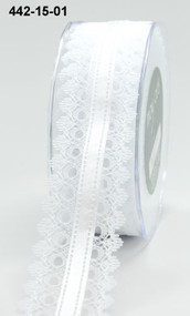 White Lace White Satin Center