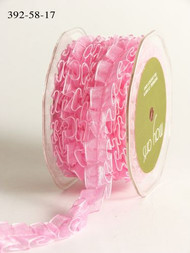 Sheer Box Pleat - Pink