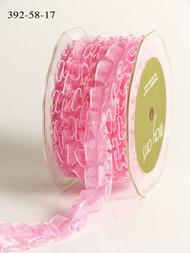 Sheer Box Pleat - Pink
