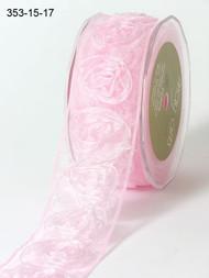 Sheer Rosette - Pink