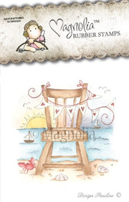 Magnolia Stamps CHAIR IN THE SUNSET - Sea Breeze 2013
