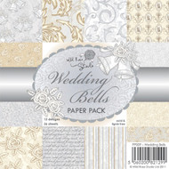 Wild Rose Studio - WEDDING BELLS 6 x 6 Paper Pack