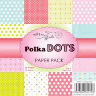 wild rose studio polka dots paper pack