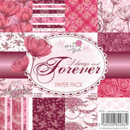 wild rose studio always and forever paper pack