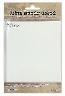 Ranger Distress Watercolor Cardstock