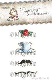 Magnolia Stamps Afternoon Tea Rose Kit