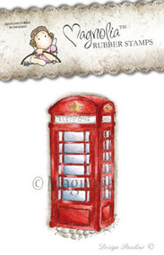 Magnolia Stamps Vintage Phone Booth