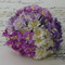 Wild Orchid Crafts Cosmos Daisy Mixed Purple/White