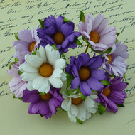 Wild Orchid Crafts Mixed Purples Chrysanthemums