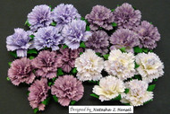 Wild Orchid Crafts Purple Carnations