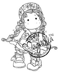 Magnolia Stamps - TILDA OF SWEDEN Rubber Stamp