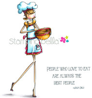 Stamping Bella Uptown Girls Chanel the Chef