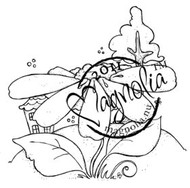 Magnolia Stamps - MEADOW DAISY Rubber Stamp