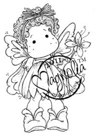 Magnolia Stamps - SUMMER FLOWER TILDA Rubber Stamp