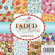 Wild Rose Studio Faded Florals Paper Pack