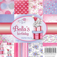 Wild Rose Studio Bella's Birthday Paper Pack