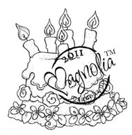 Magnolia Stamps - SUMMER CAKE Rubber Stamp