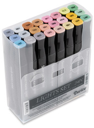 New Spectrum Noir Markers 24 pack - LIGHTS