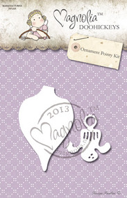 Metal Die 2 Paper Cutting Dies Size: 35 x 32 mm x 60 x 40 mm From the Winter Wonderland Collection 2013 ORNAMENT KEY KIT