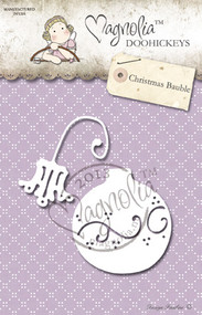 Metal Die 2 Paper Cutting Dies Size: 60 x 57 mm / 55 x 35 mm From the Winter Wonderland Collection 2013 CHRISTMAS BAUBLE