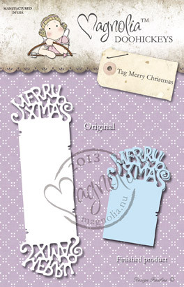 metal Die Paper Cutting Die Size: 150 x 44 mm From the Winter Wonderland Collection 2013 SO WRAPPED MERRY CHRISTMAS
