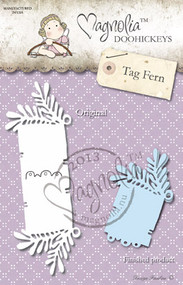Metal Dies Paper Cutting Die Size: 155 x 40 mm From the Winter Wonderland Collection 2013 SO WRAPPED FERN KIT