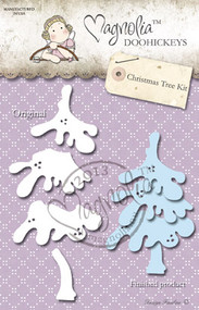 Metal Die 4 Paper Cutting Dies Size: 100 x 55 mm From the Winter Wonderland Collection 2013 CHRISTMAS TREE KIT